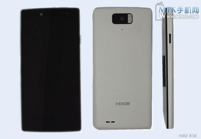 HIKe 838/X1D   первый смартфон с передней камерой со вспышкой