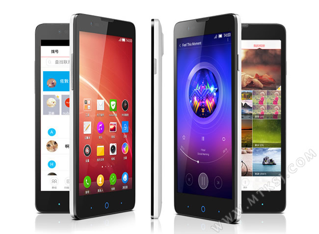 中兴v5_红牛手机中兴V5发布 售价799元起 - MTK手机网