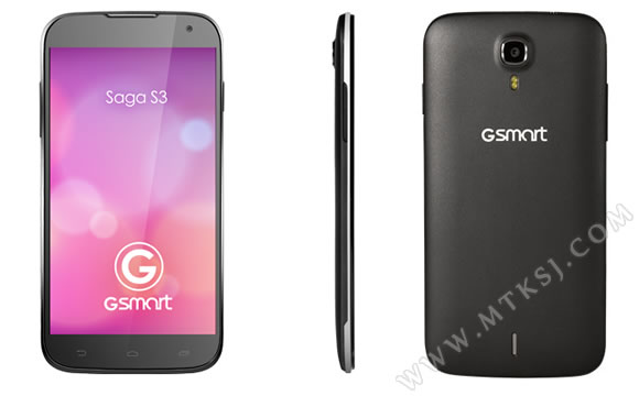 Gigabyte released its first 6-inch large-screen smartphone Saga S3-86DIGI