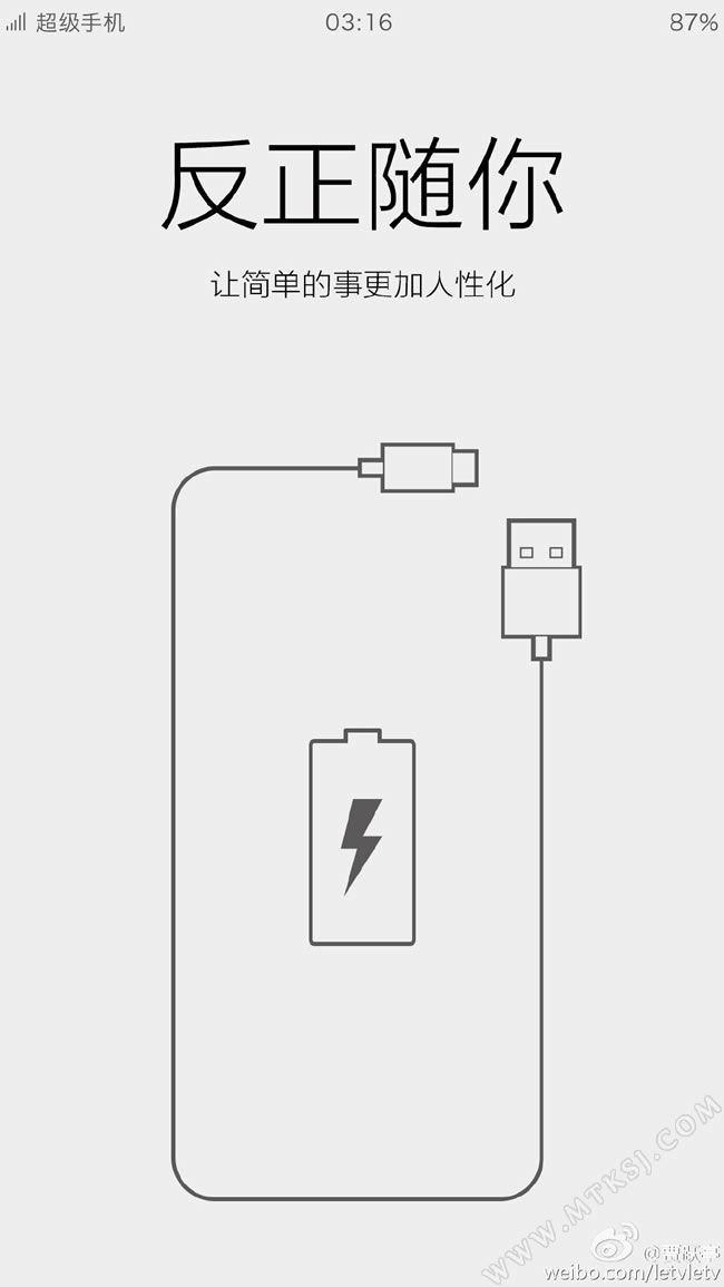 乐视超级手机或支持usb接口正反插