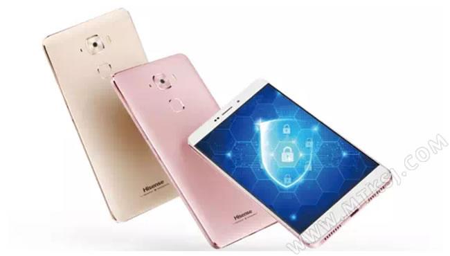 拥有出色防护能力、时尚外形的金刚系列之后,海信似乎将目光投向了安全领域,锁定对手机安全性要求更高的高端人群。就在近日,内部型号为海信E76的新品被曝光,它另有一个更直白的命名---金盾手机,安全将成为海信金盾手机最大的亮点。 海信金盾手机的Slogan是:一款更放心的安全私密手机。官方文案显示,金盾手机具备三重防护、五重加密能力,它采用了硬件级加密技术, 手机装备海信自家安全芯片, 金盾手机不仅可以支持加密通话,亦支持对信息、资料以及社交软件进行加密,从方方面面保障用户隐私安全不外泄,不被窃取。 海信金盾